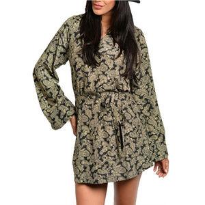 🆕 Bell Paisley Print Dress